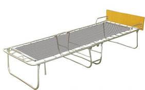 Раскладная кровать на панцирной сетке без матраса Лебедь «Комфорт» 195х75х34 см.