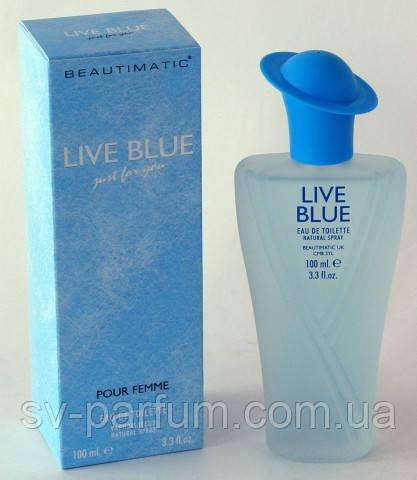 Туалетная вода женская Live Blue 100ml