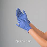 Перчатки нитриловые голубой лед 100 шт