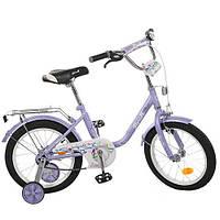 """Велосипед детский двухколесный PROFI """"FLOWER"""" на 16"""" для девочки"""