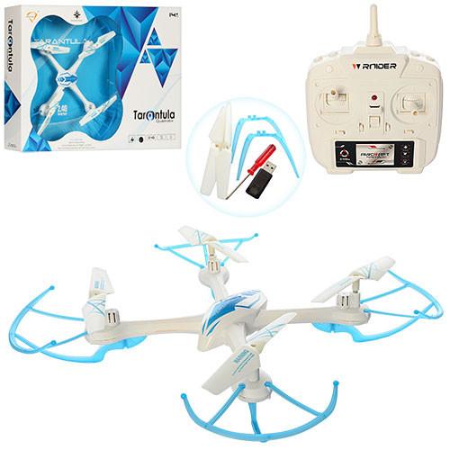 Квадрокоптер X-1505 р/у,(2,4G),аккум, USBзарядное, зап.лопасти,в кор-ке, 48-32-7cм