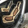 Накидка на сиденье автомобиля с подголовником АН - 8
