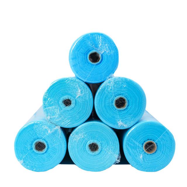 простынь на кушетку одноразовая голубая 100 м