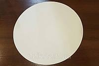Подложка однослойная белая круг 26см (10шт.)