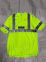 Светоотражающая футболка CoolMax полиции Великобритании