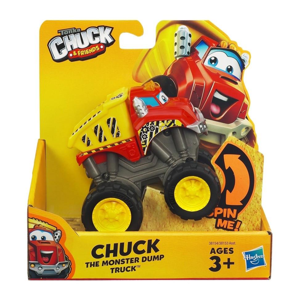 """Машинка грузовик Чак из м/ф """"Чак и его друзья"""" - Chuck, Chuck&Friends, Basic, Playskool, Tonka, Hasbro"""