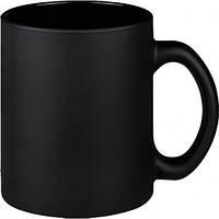 Кружка черная цилиндр , Чашка черная матовая 350 мл