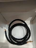 Кожа синт.  с золотым карабином 585 пробы из красного золота 1830д