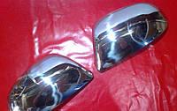 Накладки на зеркала для Skoda Superb, Шкода Суперб 2009-2015 г.в.