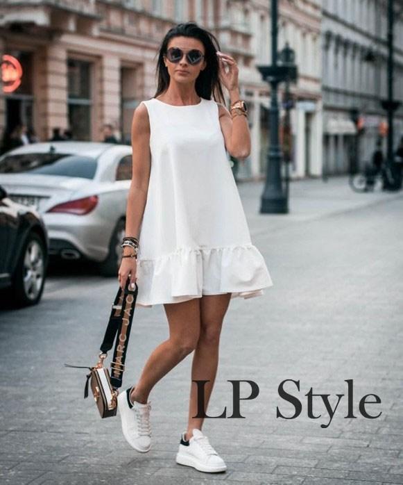 bbffdc9fcd23 Стильное ,модное, короткое летнее платье 42-44-46р.: продажа, цена в ...