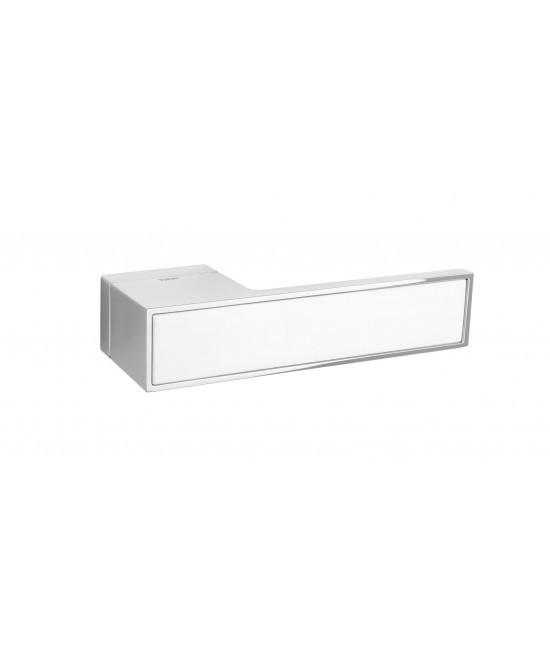 Дверная ручка TUPAI BIG VARIO 3084RT (матовый хром с вставкой)