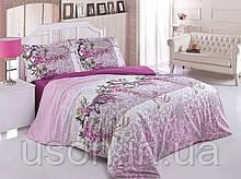 Комплект постельного белья семейный размер ранфорс ТМ Gokay Bloom