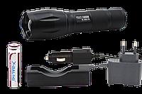 Фонарик тактический Police Bailong BL-1831-T6 158000W +две зарядки+АКБ+ LED  лампочка