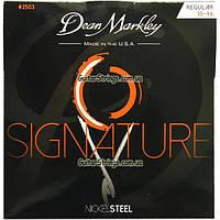 Струны Dean Markley 2503 Nickel Steel 10-46 Signature