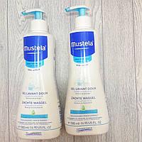 Мягкий очищающий гель для волос и тела Mustela