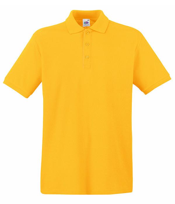 Мужская тенниска поло M Солнечно Желтый