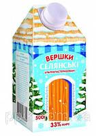 Сливки молочные Селянские Ультрапастеризованные 33% (500 г)