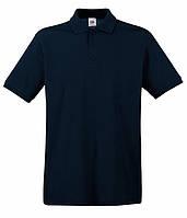 Мужская футболка поло Премиум 56, Глубокий Темно-Синий