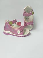Босоножки на девочку Том.М ортопедические кожаные, фото 1