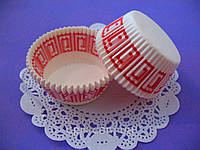 Тарталетки (капсулы) бумажные для кексов, капкейков Греция 2, фото 1