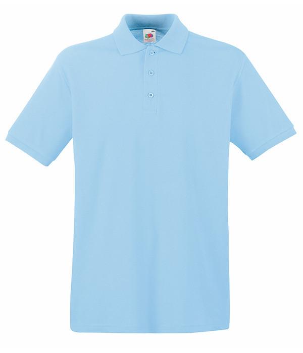 Мужская тенниска поло 3XL Небесно-Голубой