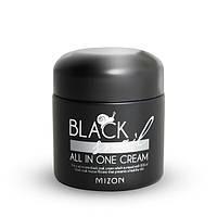MIZON BLACK SNAIL ALL IN ONE PREMIUM CREAM Регенерирующий премиум-крем с экстрактом черной иберийской улитки, , фото 1