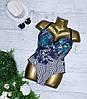 Купальник взрослый слитный 3041, размеры 48-56