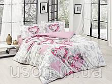 Комплект постельного белья семейный размер ранфорс ТМ Gokay Forever