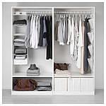 IKEA PAX Шкаф, белый, Хасвик белый  (891.805.97), фото 3