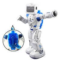 Робот K3 р/у,аккум,37см,рюкзак для воды,муз,зв,св,танцует,ездит,ходит,USBзар,в кор,42-39-15см