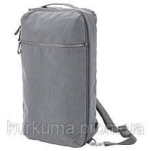 IKEA FORENKLA Рюкзак, светло-серый  (703.704.89)