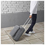 IKEA FORENKLA Сумка на колесиках с рюкзаком, светло-серый  (503.736.10), фото 6