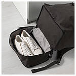 IKEA FORENKLA Рюкзак, черный  (003.135.72), фото 4