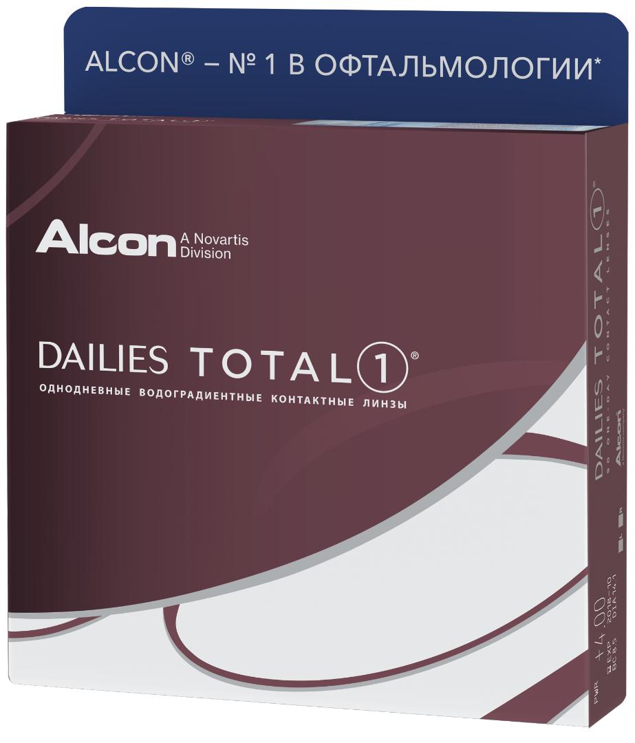 Одноденні контактні лінзи Alcon, Dailies Total 1 (90шт)