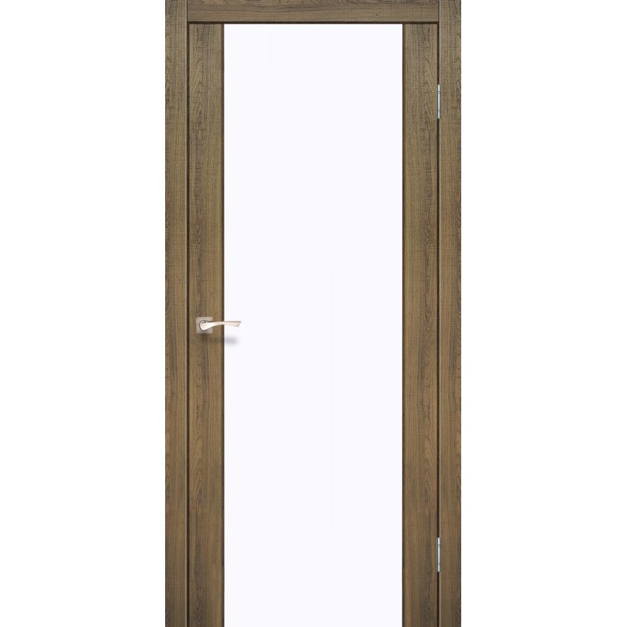 Двери KORFAD SR-01 (сатин триплекс) Полотно+коробка+1 к-т наличников