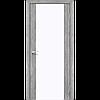 Двери KORFAD SR-01 (сатин триплекс) Полотно+коробка+1 к-т наличников, фото 3