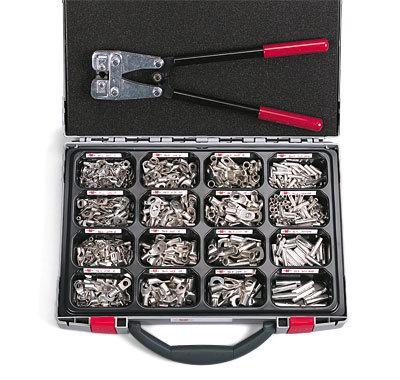 Набор обжимных кабельных наконечников Wurth