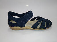Женские кожаные закрытые босоножки ТМ Inblu, фото 1