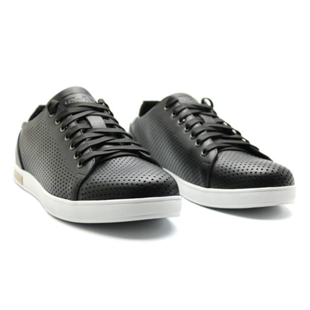 7a24972e Кеды мужские кожаные Faber летние черные (спортивные туфли): продажа ...