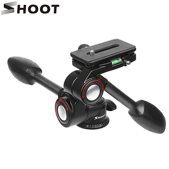 Трехосная штативная головка SHOOT - XT-446