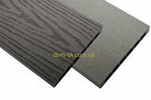 Доска из ДПК пустотелая,  HOLZDORF для высоких грядок 160х19x3000 мм Импрэс графит