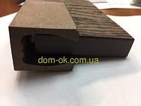 Направляющий профиль для грядок из  ДПК  HOLZDORF, для высоких грядок 18мм Импрес