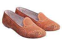 Балетки Etor 4524-897 помаранчевий, фото 1
