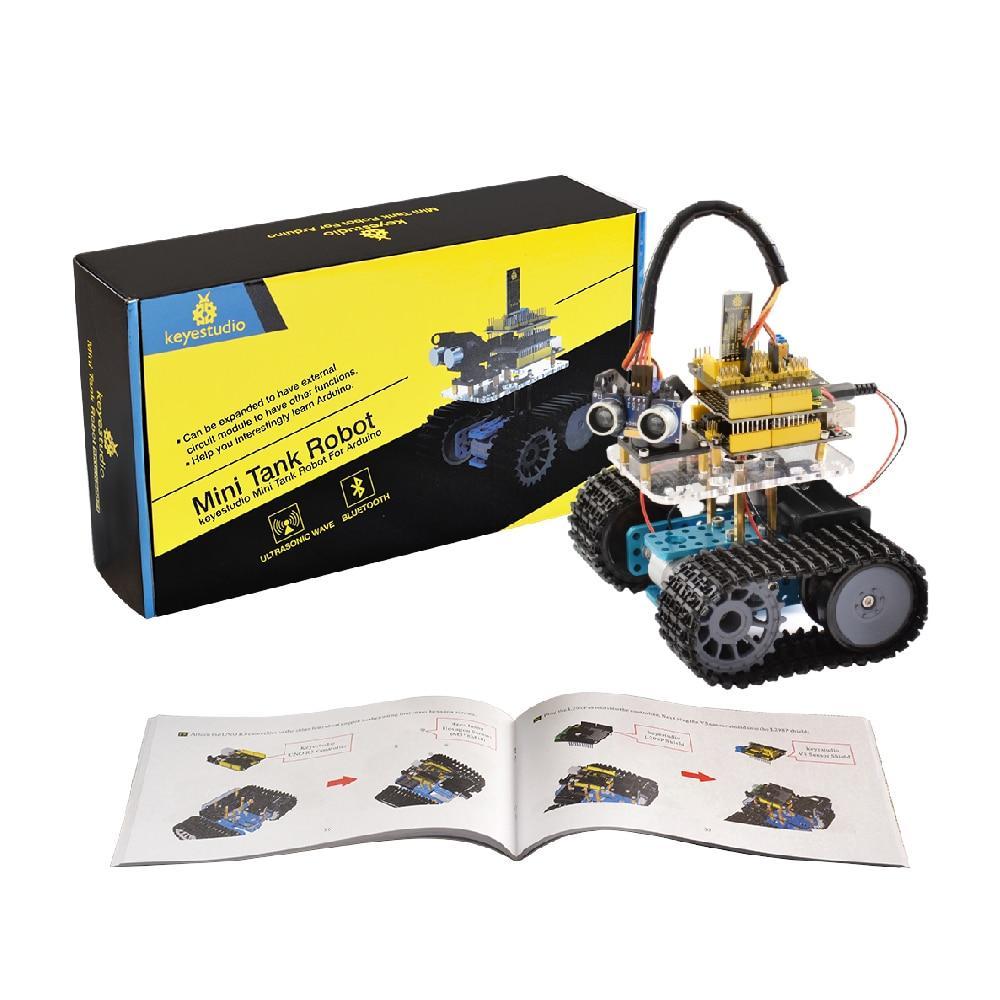 Набор Arduino Keyestudio Мини Танк