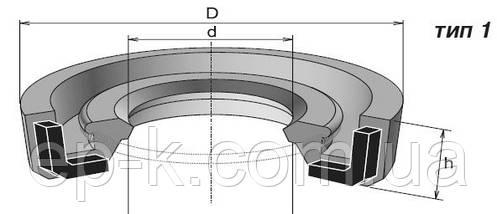 Манжета армована (сальник) 20х40х7 ГОСТ 8752-79, фото 2