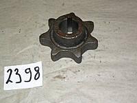 Звездочка 7-ми зубка d-30 (одностр.) Н.023.201-02