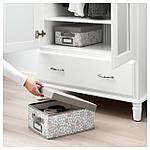 IKEA STORSTABBE Коробка с крышкой, бежевый  (704.103.67), фото 4