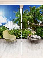 Фотошторы WallDeco Тропічний ліс (13579_1_ 3)