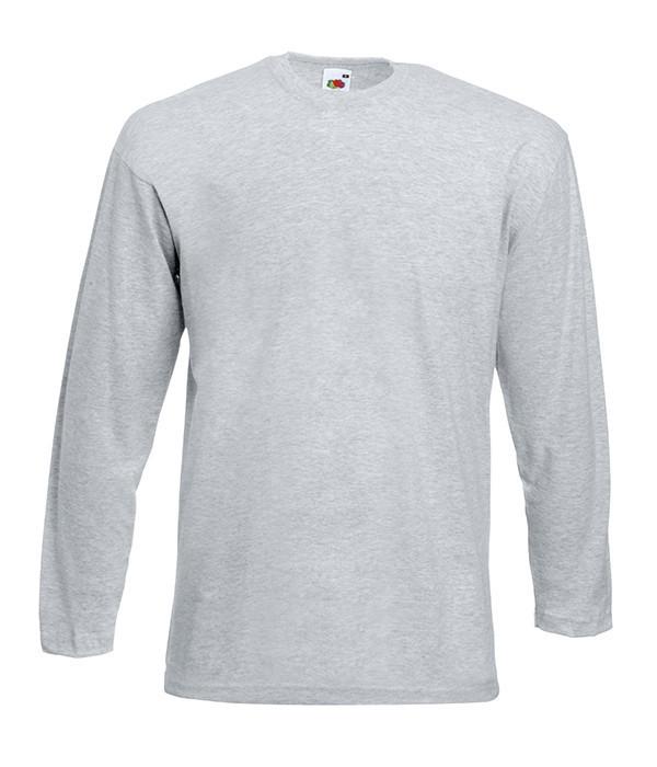 Мужская футболка с длинным рукавом 4XL, 94 Серо-Лиловый