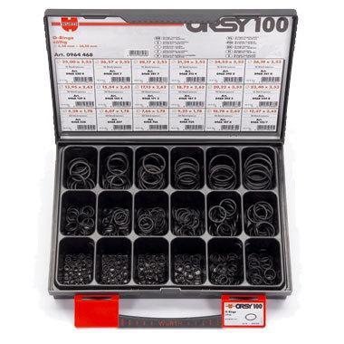 Набор резиновых колец, ORSY100 дюймовые, 440 шт. Wurth